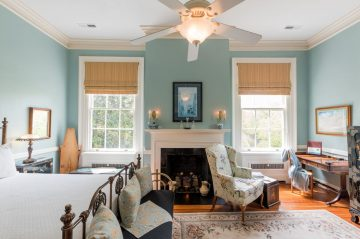 At Bloomsbury Inn, the Sweet Williams room is favored by many.