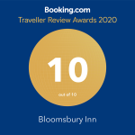 Booking.com Guest Review Award logo - Rating 9.9 out of 10