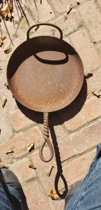 Wrought Iron Skillet